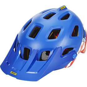 Mavic Crossmax Pro Bike Helmet orange/blue